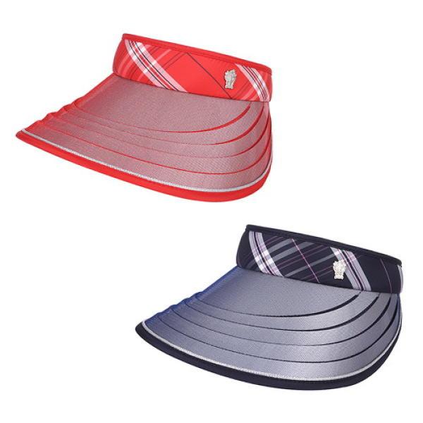 [DAKS 帽子] 格子 伸展式帽簷 遮陽帽子 DK92WSP007