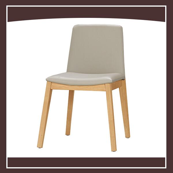 卡瑞娜餐椅(皮)(實木) 210571061009