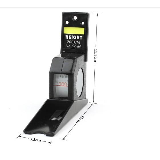 2M 量身高器【NF366】身高尺 測量尺測高尺 伸縮身高測量尺 成人 可伸縮卷尺刻度尺 多功能牆貼兒童1026KIM