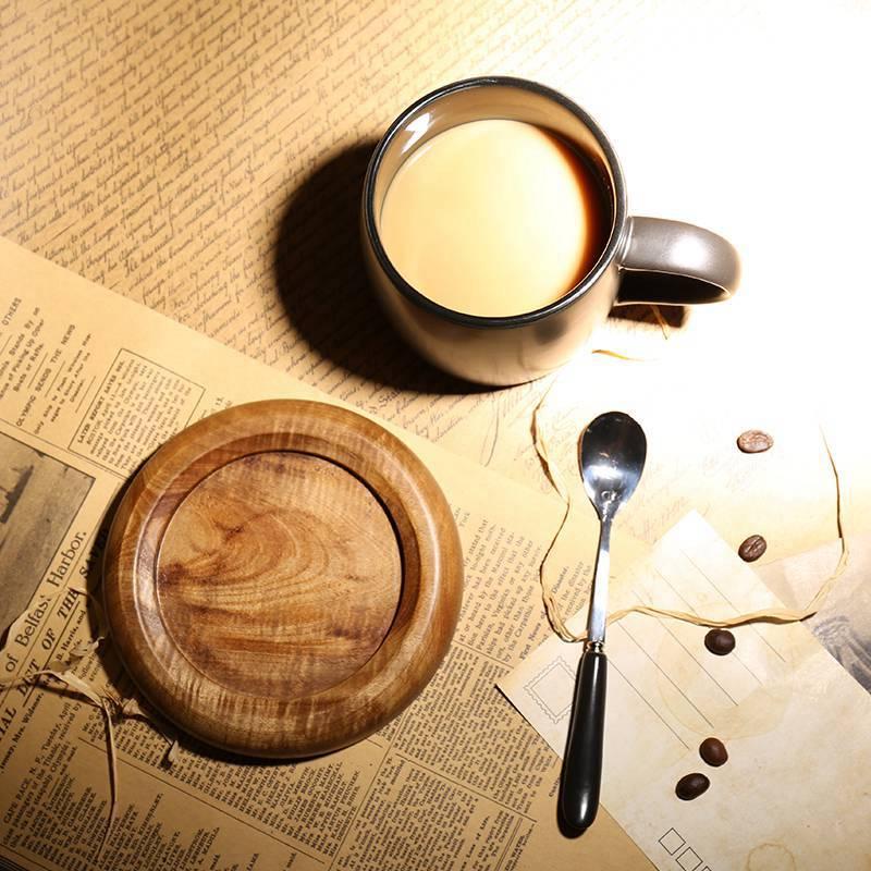 馬克杯 歐式咖啡廳磨砂馬克杯帶勺 黑色咖啡杯配底座創意簡約陶瓷水杯子