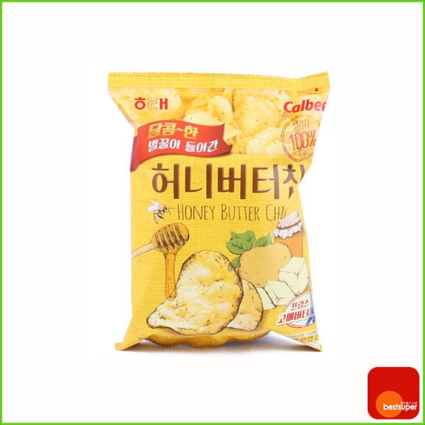 零食/卡樂比/蜂蜜黃油薯片/60gx16包