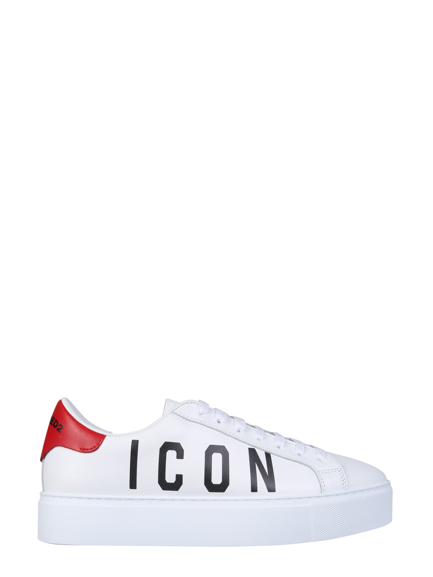 dsquared sneaker with logo