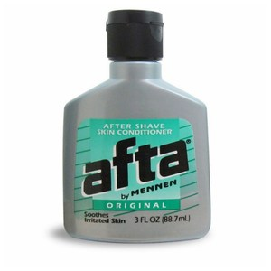 美國進口afta男用鬍後乳液-原始香味(3oz/88.7ml)*3