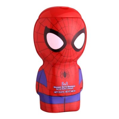 SPIDERMAN 蜘蛛人限定版 2合1沐浴洗髮精 400ml