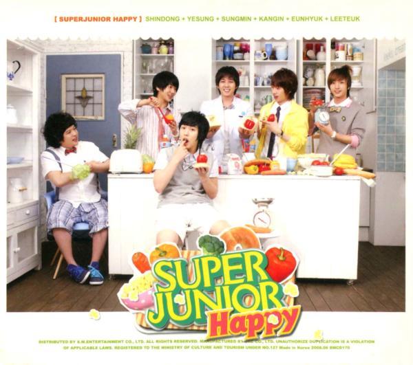 Super Junior Happy - 料理王