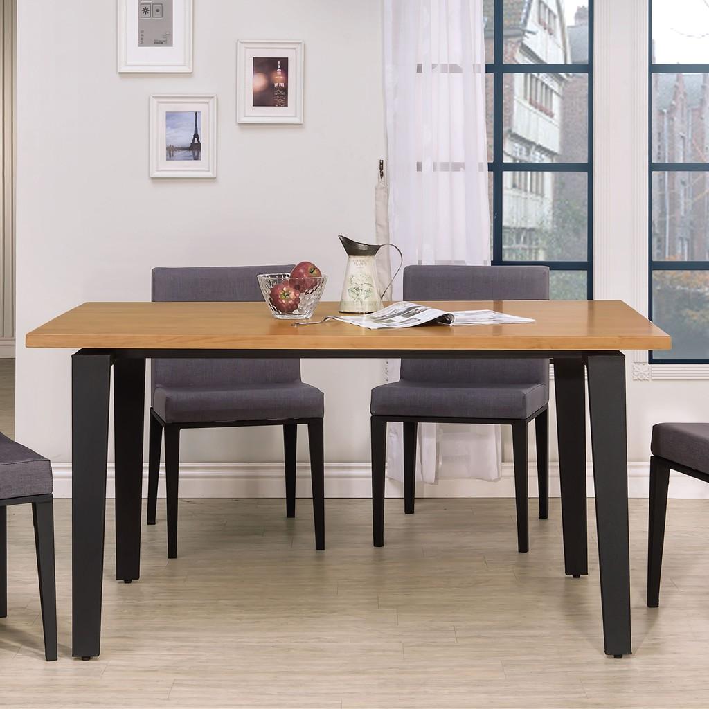【150cm餐桌-B417-04】餐桌伸縮 長型餐桌組 北歐大理石桌子 圓形桌 餐桌椅組【金滿屋】