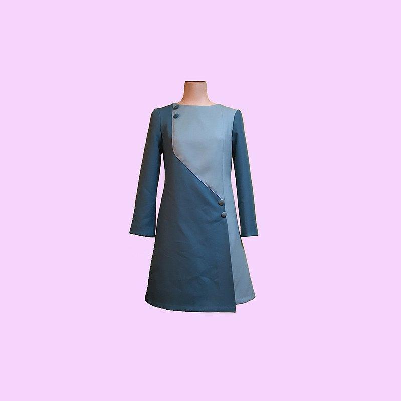復古連身裙jeanne2