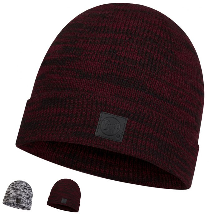 BUFF 兩色 EDIK 針織保暖帽 毛帽 大理石灰 深酒紅 BFL120831 綠野山房