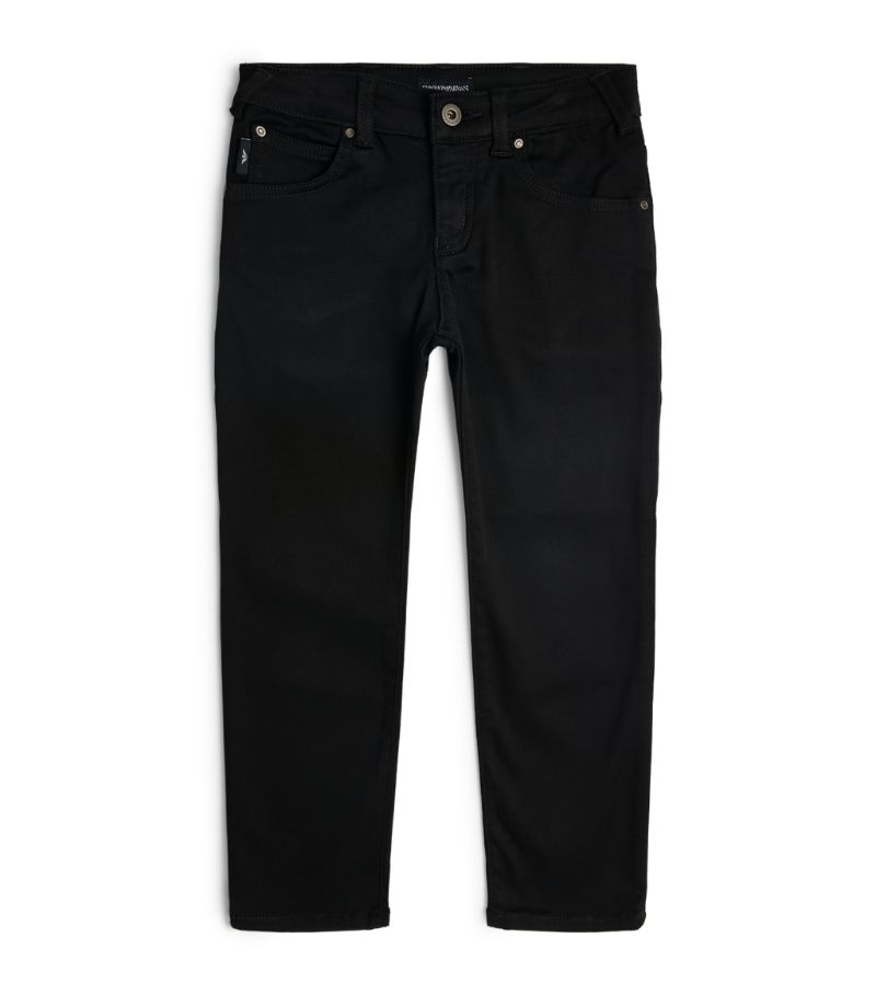 Emporio Armani Kids Logo-Pocket Jeans (4-16 Years)