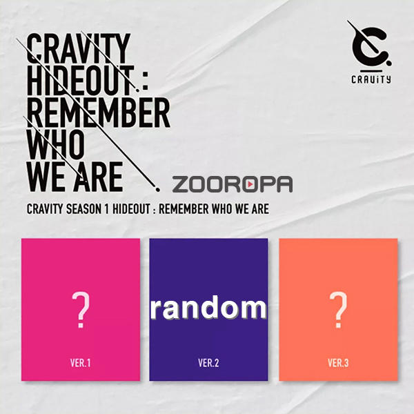 ZOOROPA CRAVITY SEASON 1 HIDEOUT REMEMBER WHO WE ARE