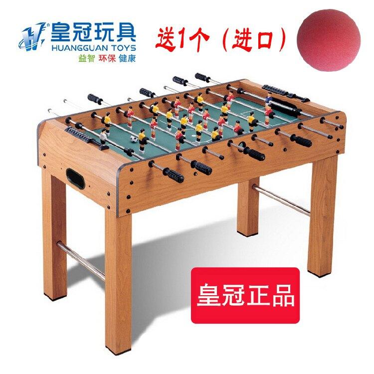 遊戲台 皇冠桌上足球機成人桌面足球桌上足球玩具波比足球8桿大號 MKS