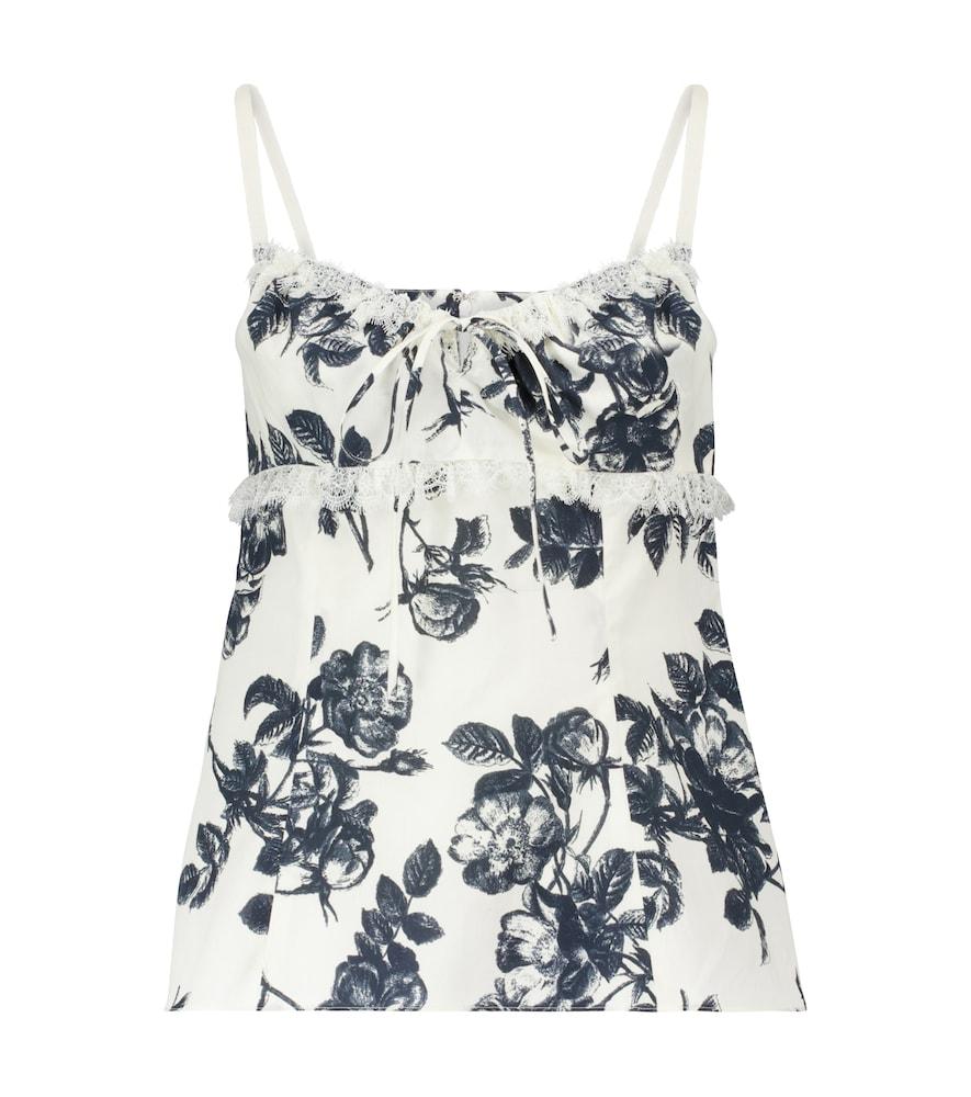 Siria floral cotton camisole