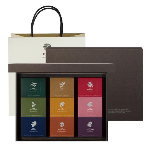 [OSULLOC] 總公司直營 9種 花果香 高級茶系列(共 90包)