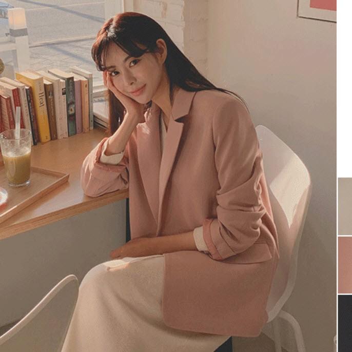CHERRYKOKO官方授權【CAADCK041S】正韓 韓國製 春季必備挺版西裝外套~首爾蝶衣