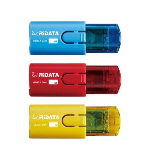 RiDATA錸德 進擊碟 32GB 隨身碟 USB3.1 (顏色隨機出貨) /個 HD18