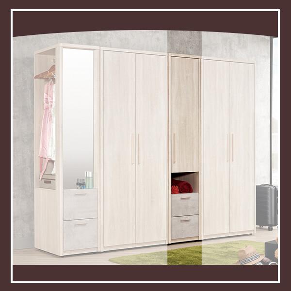 漢斯1.4尺衣櫥(單門) 21057557004
