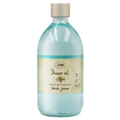 SABON 茉莉花語沐浴油500ml (台灣專櫃貨) 附紙袋