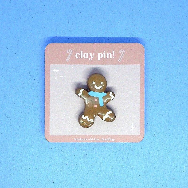 小薑餅人Pin#2  可愛配件 手工製作禮品