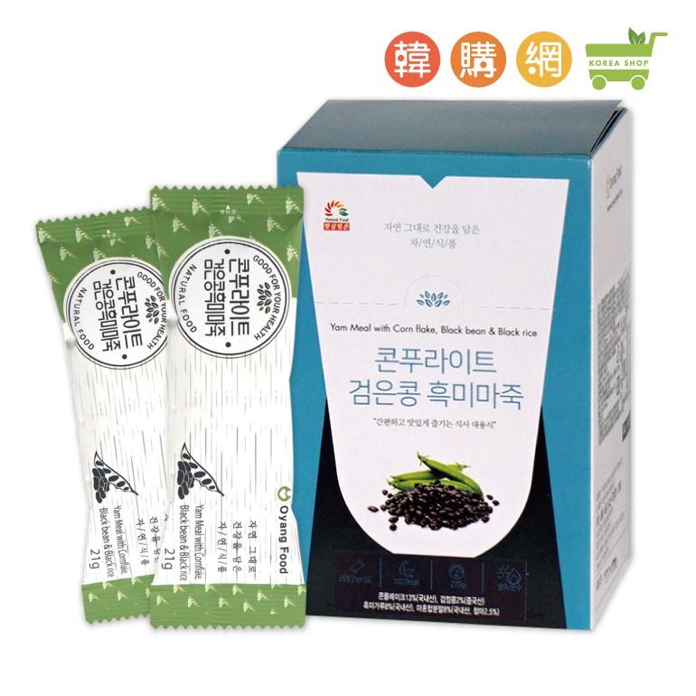 韓國伍陽黑豆黑米山藥沖泡飲273g(21gX13入)【韓購網】