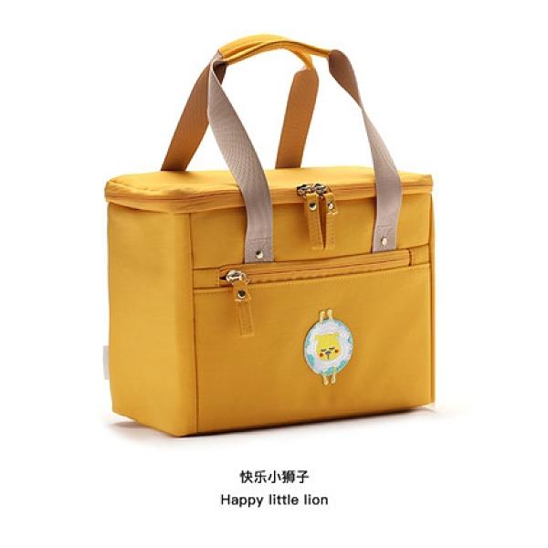 保溫飯盒袋 飯盒手提包保溫飯盒袋子帶飯手提便當袋裝午餐上班族鋁箔加厚防水