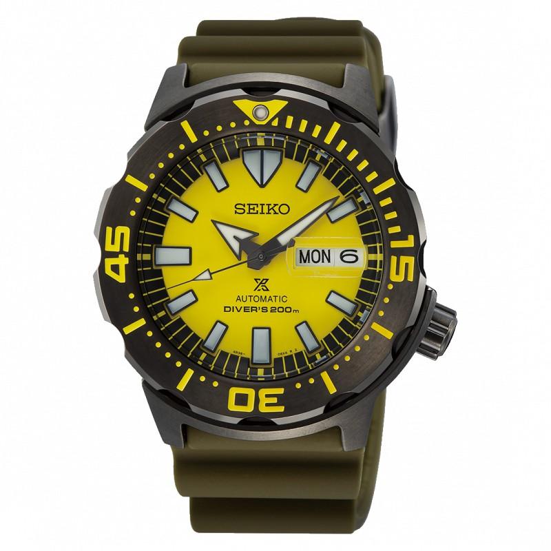SEIKO 精工 DIVER SCUBA 機械錶 SRPF35K1 魔幻鐘錶時計