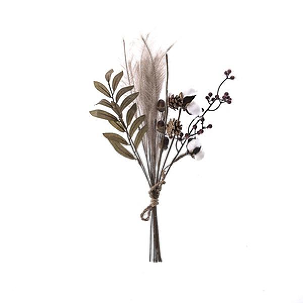 波特花插系列 豐收果實花束 褐