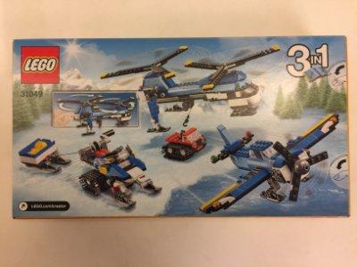 LEGO 三合一Creator創作系列 31049 雙螺旋槳直升機和目立康一瓶合併價