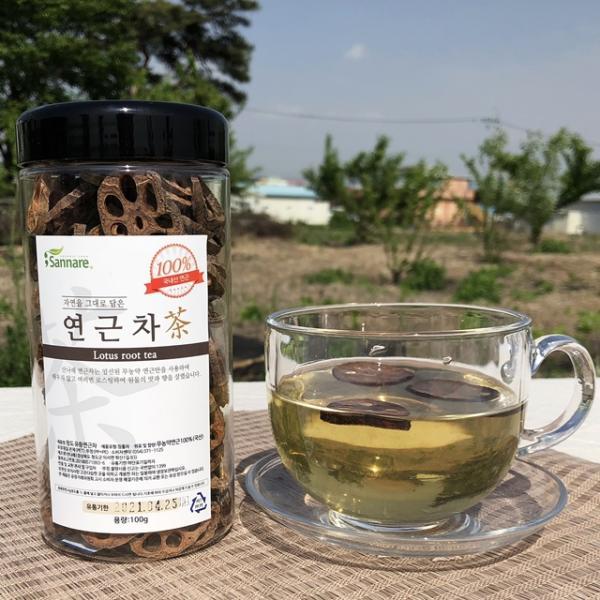 幼根蓮藕茶 100g