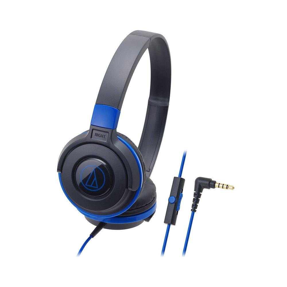 鐵三角 Audio-Technica ATH-S100is 耳罩式 耳機麥克風 輕量型耳機 公司貨