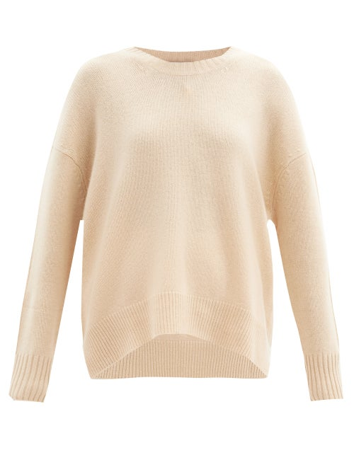 Allude - Cashmere Sweater - Womens - Camel