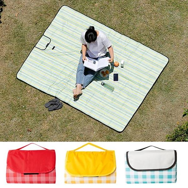 野餐墊戶外便攜野炊布地墊外出地墊子防潮可折疊