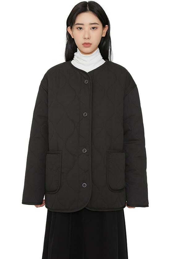 韓國空運 - Dumble quilted padded coat 大衣外套