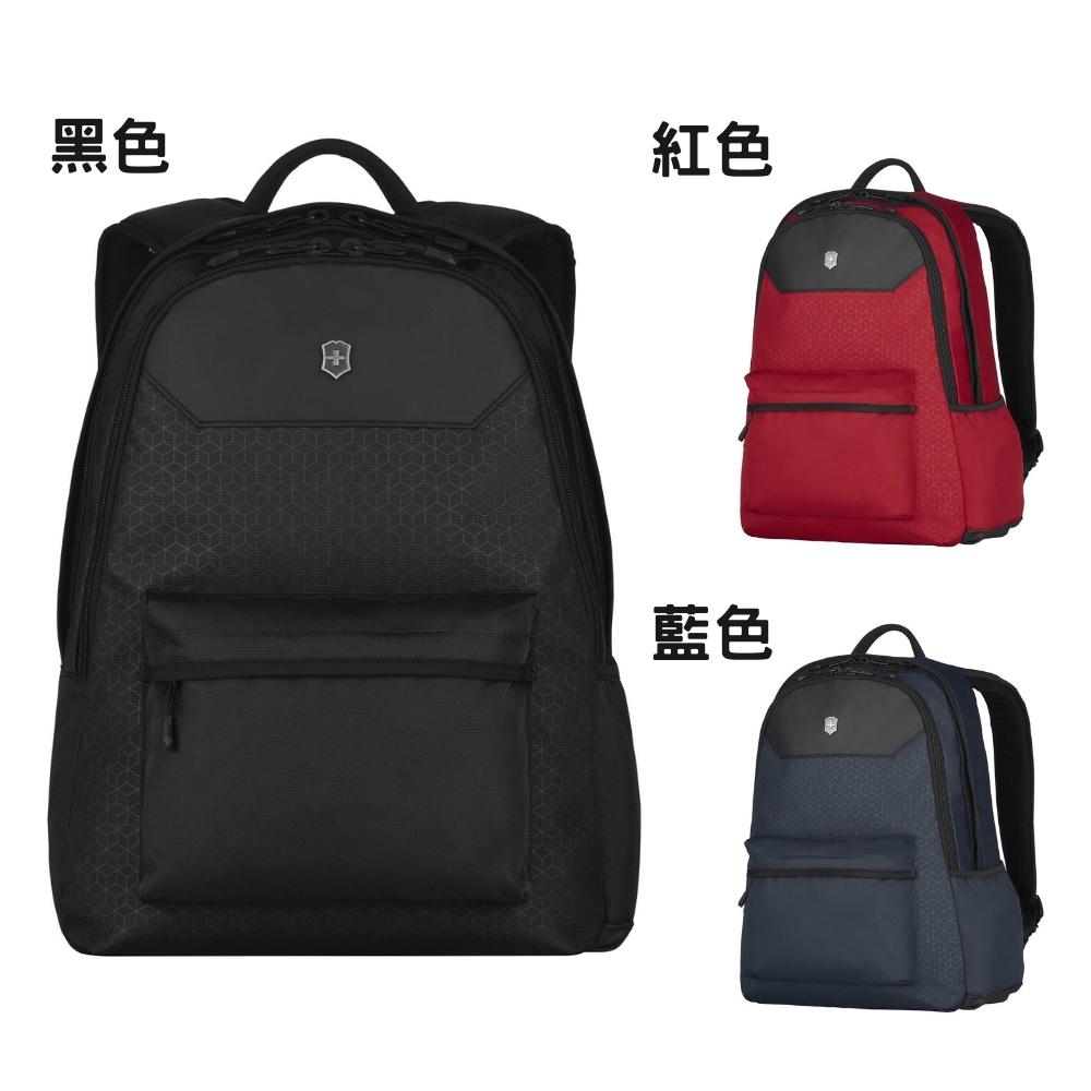VICTORINOX 瑞士維氏 後背包 休閒後背包 電腦後背包 公事包 商務包 雙肩後背 TRGE-606736 (黑/藍/紅)