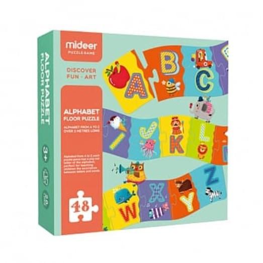 【MiDeer】兒童字母地板拼圖