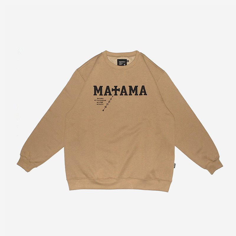 Matama 20 A/W 刺繡大學T / Electric Embroidery Sweatshirts KI