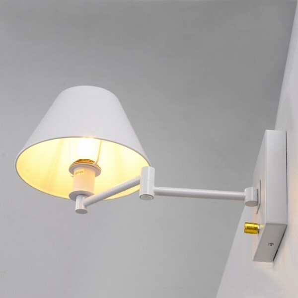 18park-馬可壁燈(升級版)-可移動/4色 [白色,全電壓]