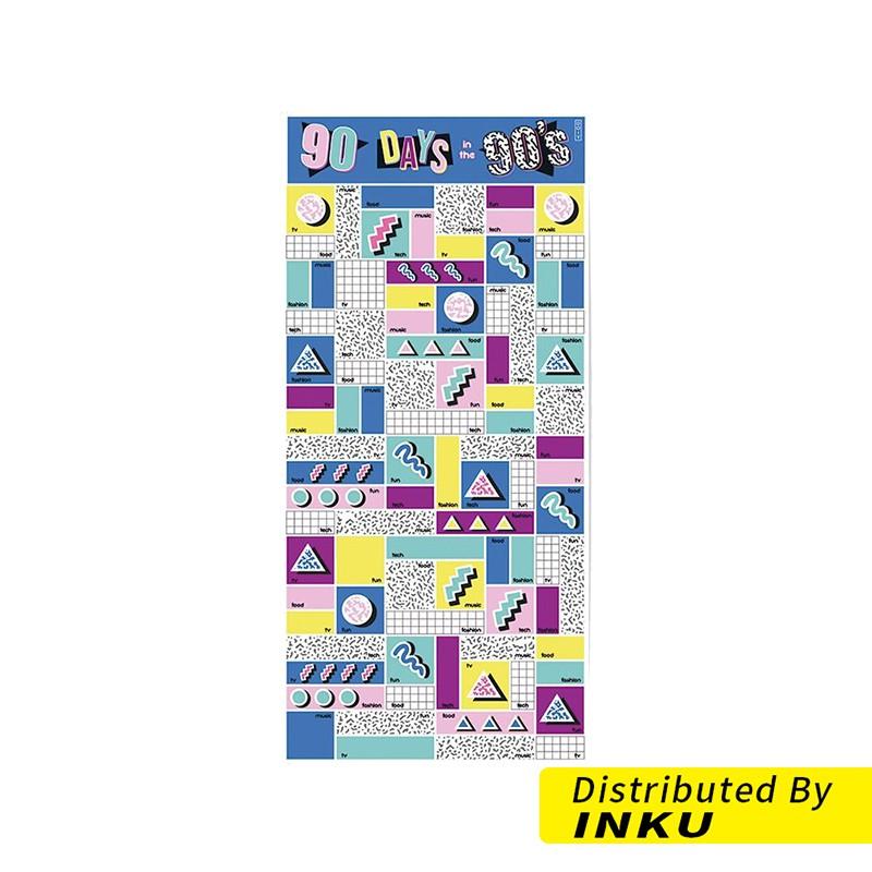 DOIY 90個90年代的經典 海報 壁貼 壁畫 壁報 i-D [現貨]