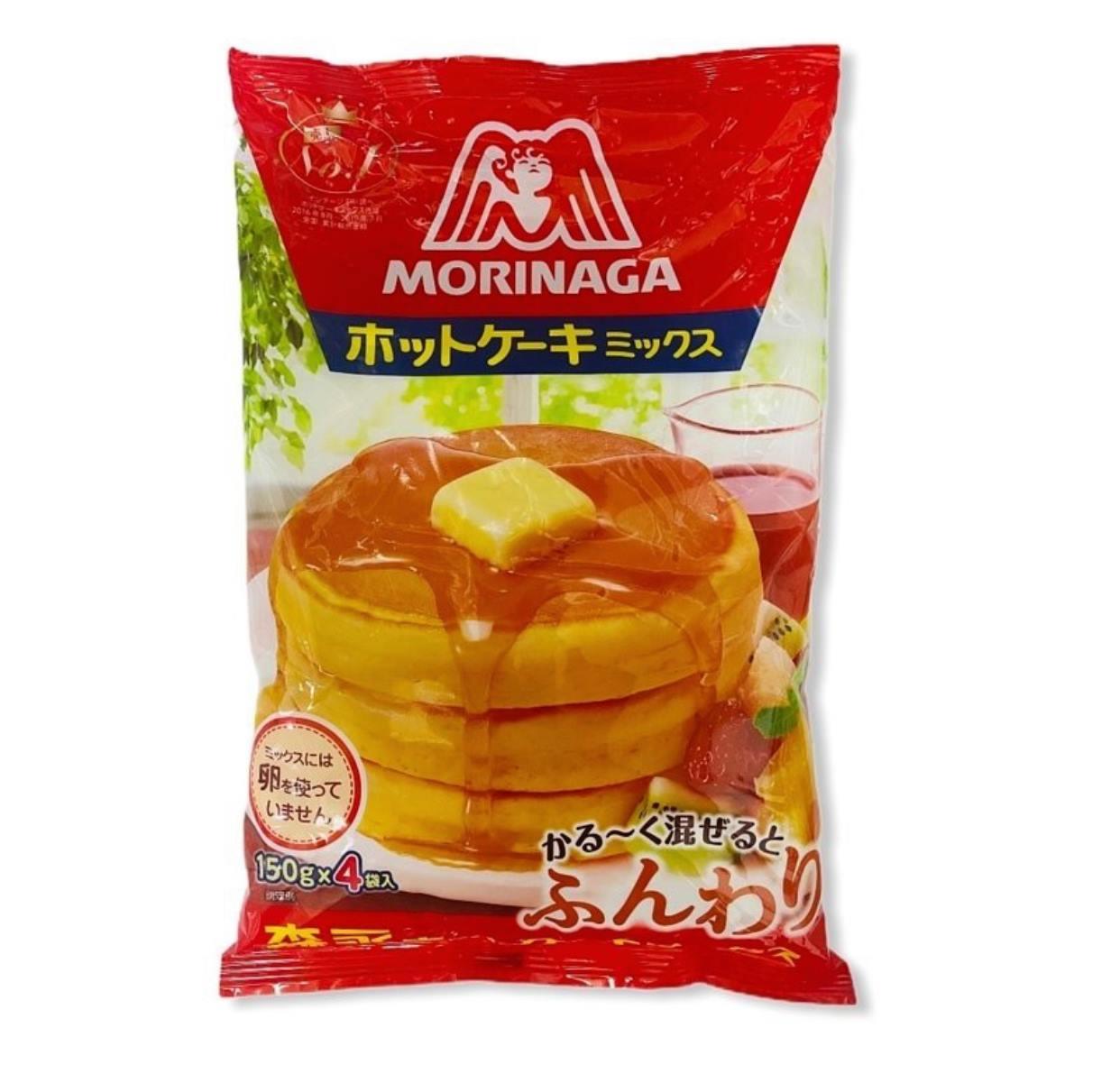 森永 家庭號鬆餅粉 150gx4小袋入