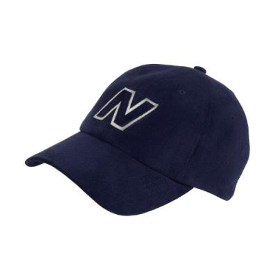 New Balance 老帽 Block N Hat 基本款 男女款 紐巴倫 棒球帽 遮陽 穿搭 外出 藍 白 LAH03001TNV