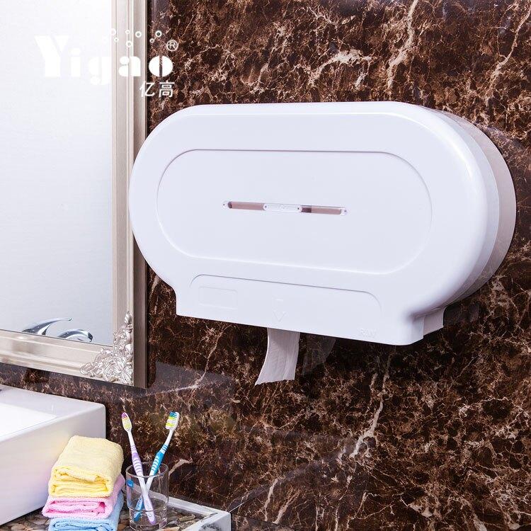 擦手紙盒 億高 卷紙架 塑料大卷紙盒 酒店大盤紙盒 賓館掛壁式廁紙巾盒『CM40694』