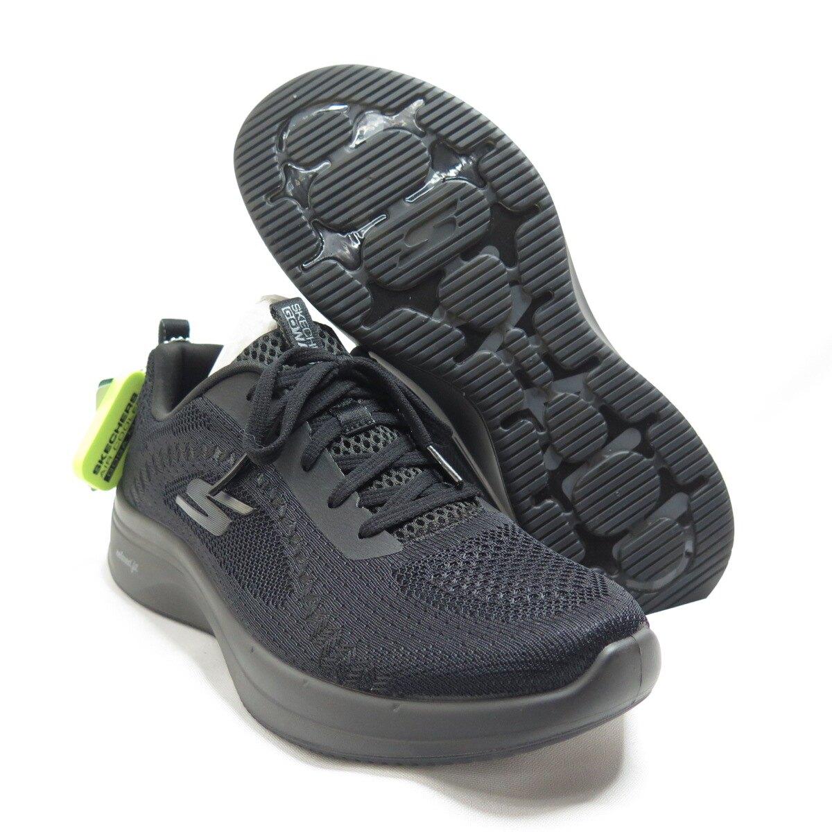 Skechers GO WALK STEADY 女款 健走鞋 124112BBK 黑【iSport愛運動】