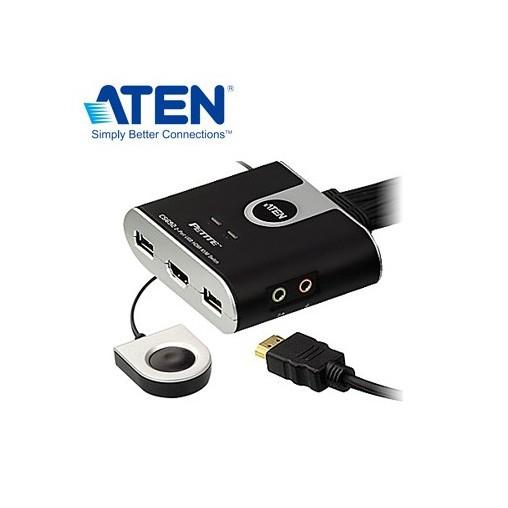 ATEN 2埠USB HDMI KVM多電腦切換器 CS692-KVM077