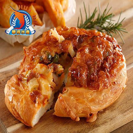 東港華得 5.5吋純手工餅皮披薩 香辣起司雞(1片/包,共5包) (1片/包,共5包)