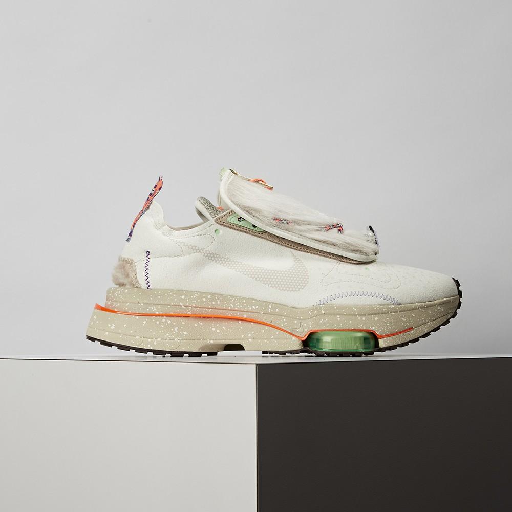 Nike Air Zoom Type 女鞋 米白 氣墊 避震 毛料 簡約 慢跑 休閒鞋DC3288-111