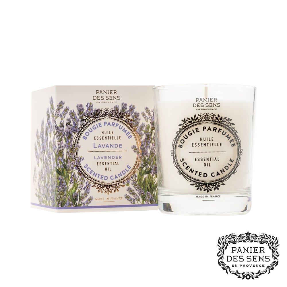 法國 Panier des Sens 香氛蠟燭-舒緩薰衣草 Relaxing Lavender 180g