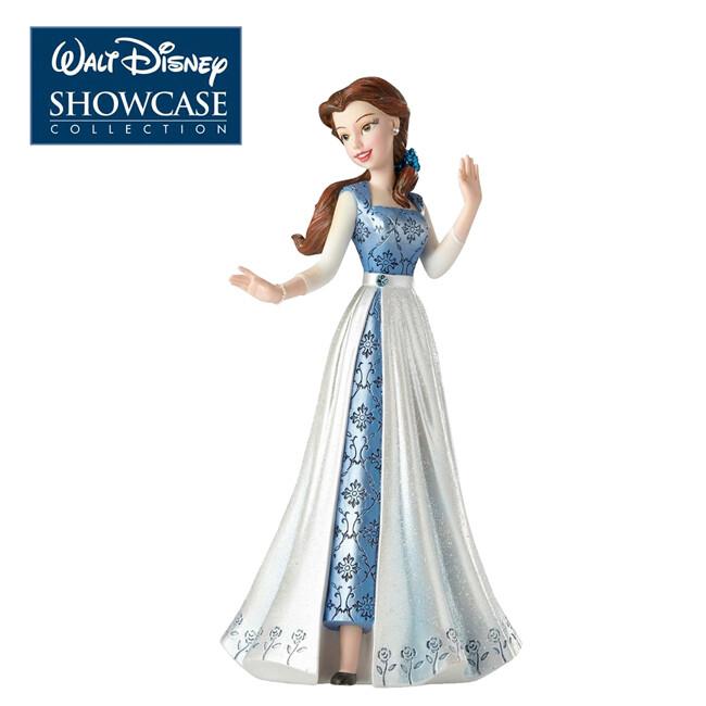 enesco 貝兒公主 時裝塑像 公仔 精品雕塑 塑像 美女與野獸 迪士尼 894135
