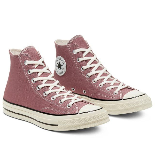 CONVERSE CHUCK 70 HI SADDLE/EGRET/BLACK 男女 休閒鞋 粉紫