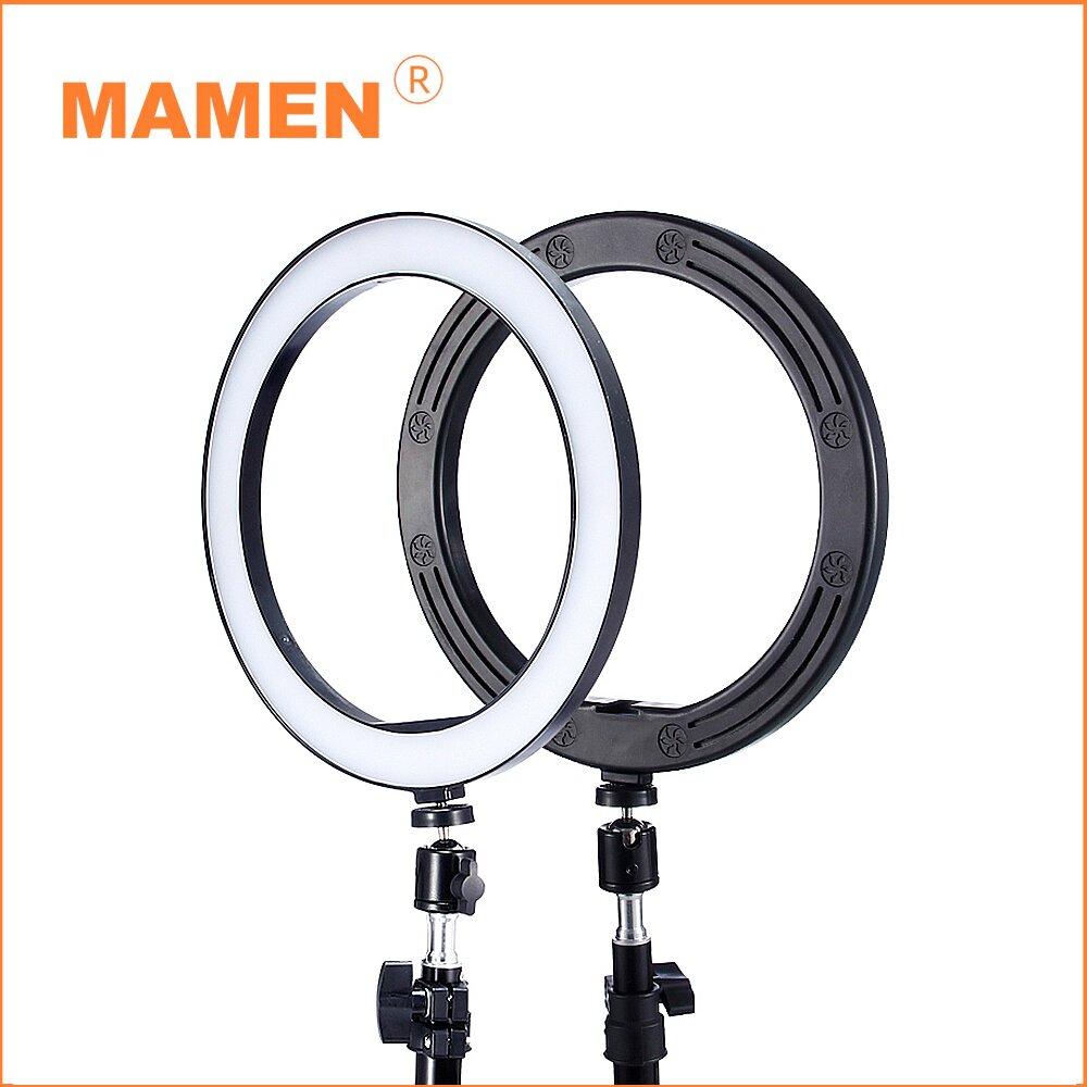 MAMEN 慢門 6吋環形補光燈+160cm燈架 (公司貨)