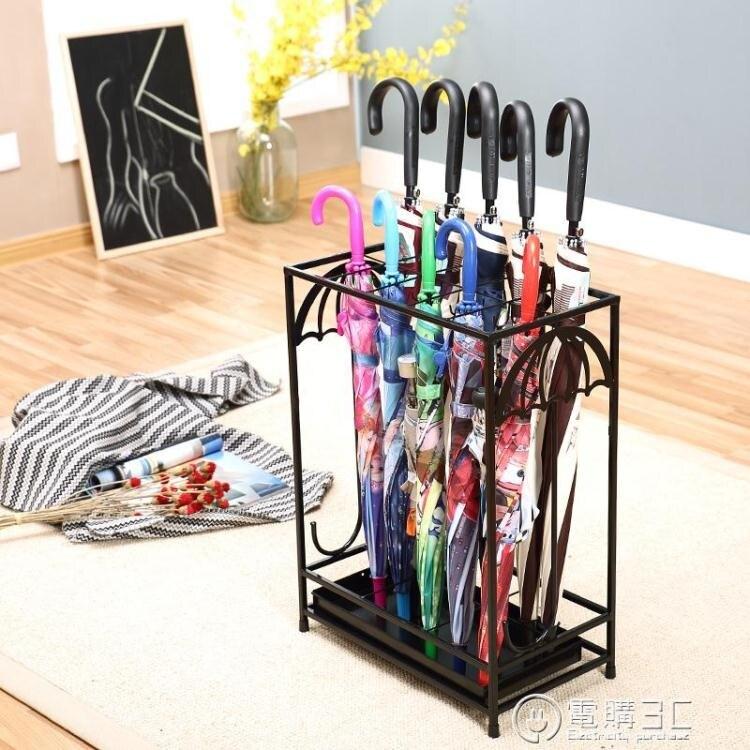 創升 酒店大堂傘架歐式家用雨傘架個性創意雨傘架雨傘收納架子 七色堇   元旦 交換禮物