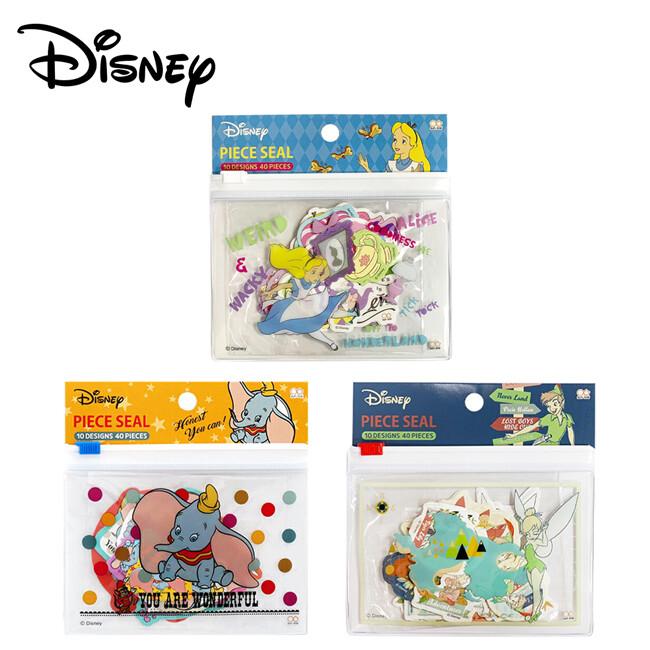 迪士尼 夾鏈袋貼紙包 日本製 手帳貼 貼紙 收納袋 卡片包 632025 632032 632056